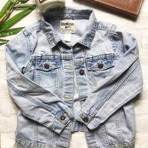 Oshkosh | Girls Light Denim Jean Jacket Size 6X
